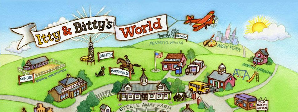 Itty & Bitty's World