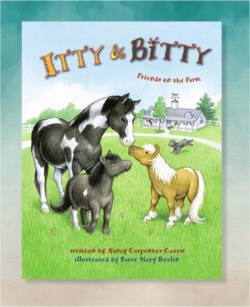 Itty Bitty Friends on the Farm Book 2